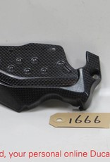Ducati Ducati Carbon Sprocket and Chain Guard Cover Multistrada 1000/1100