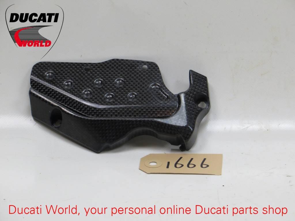 Ducati Ducati Carbon Sprocket and Chain Guard Cover Multistrada 1000/1100