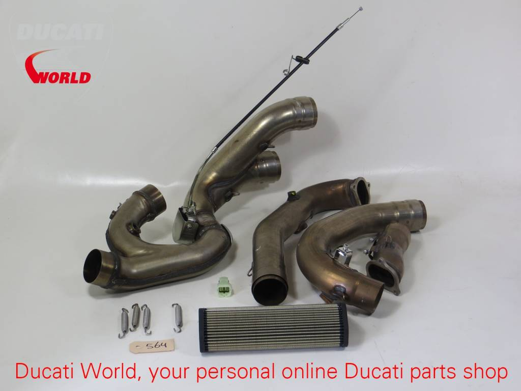 Ducati Ducati Exhaust Pipes Streetfighter