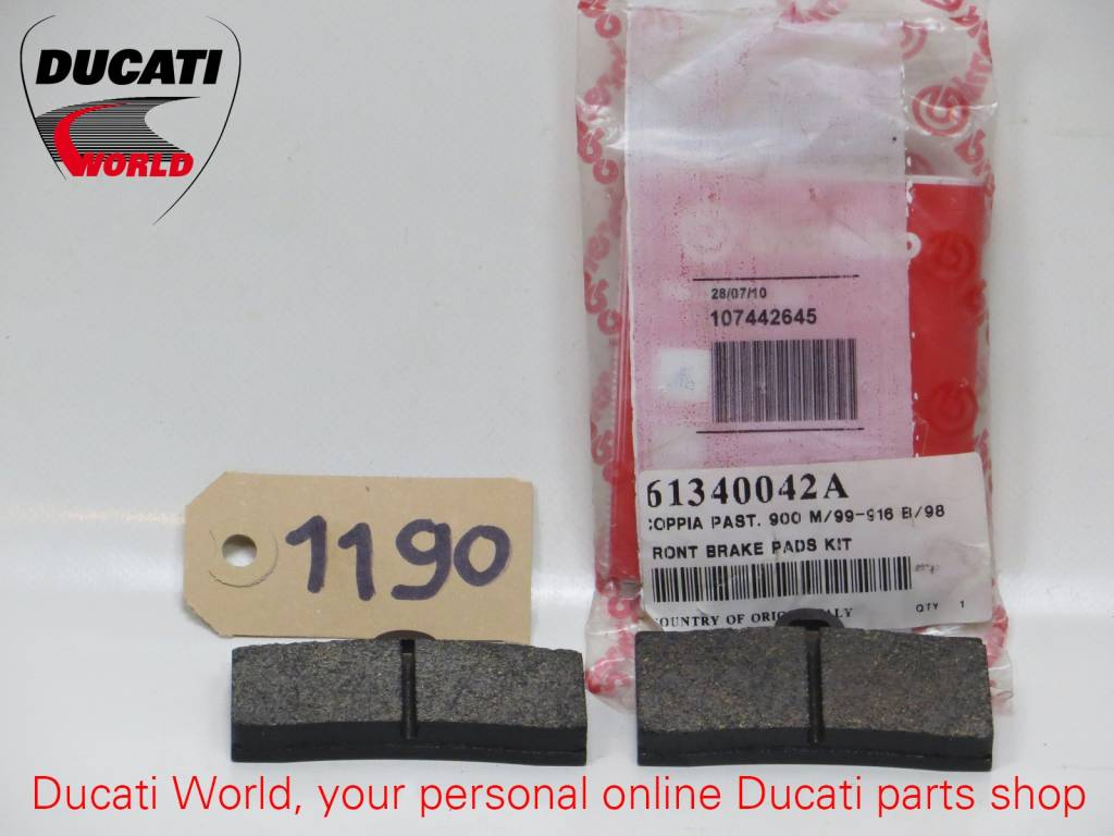 Ducati Ducati Front Brake Pads Kit Monster 900, SBK 916