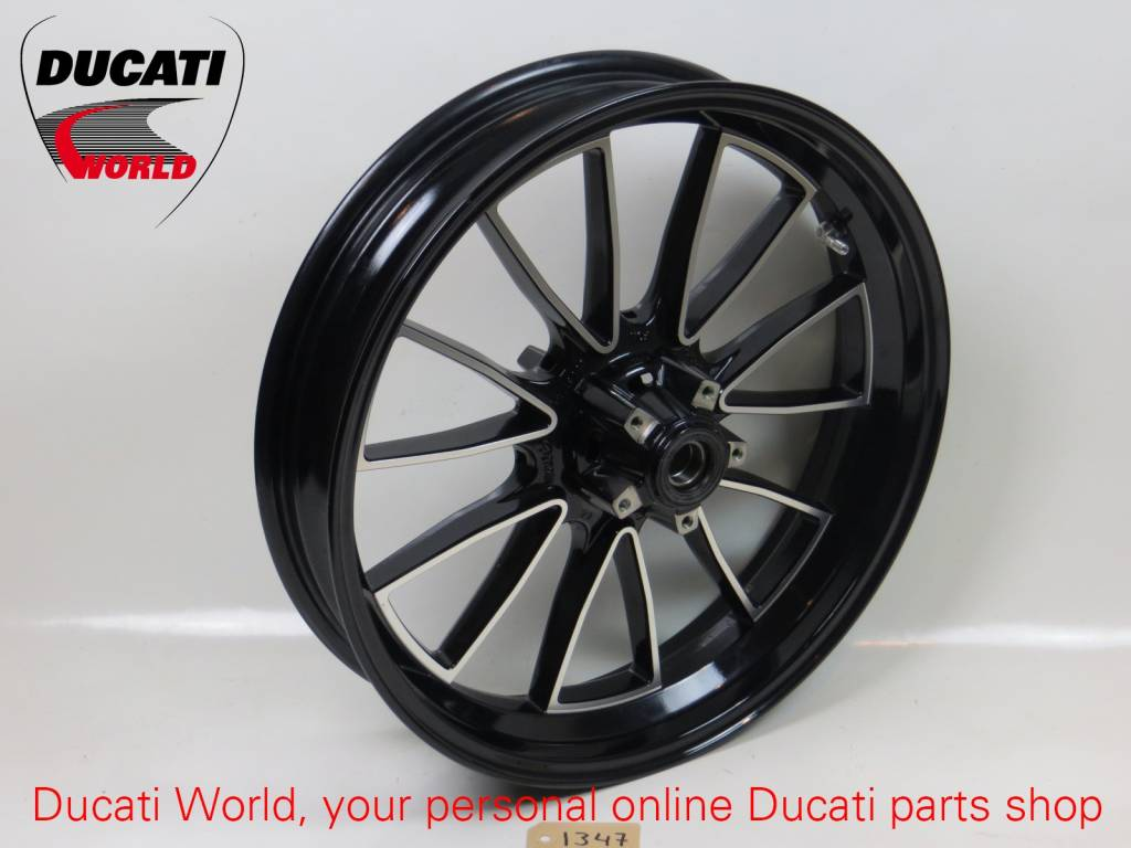 Ducati Ducati Front Wheel Gloss Black Diavel '10
