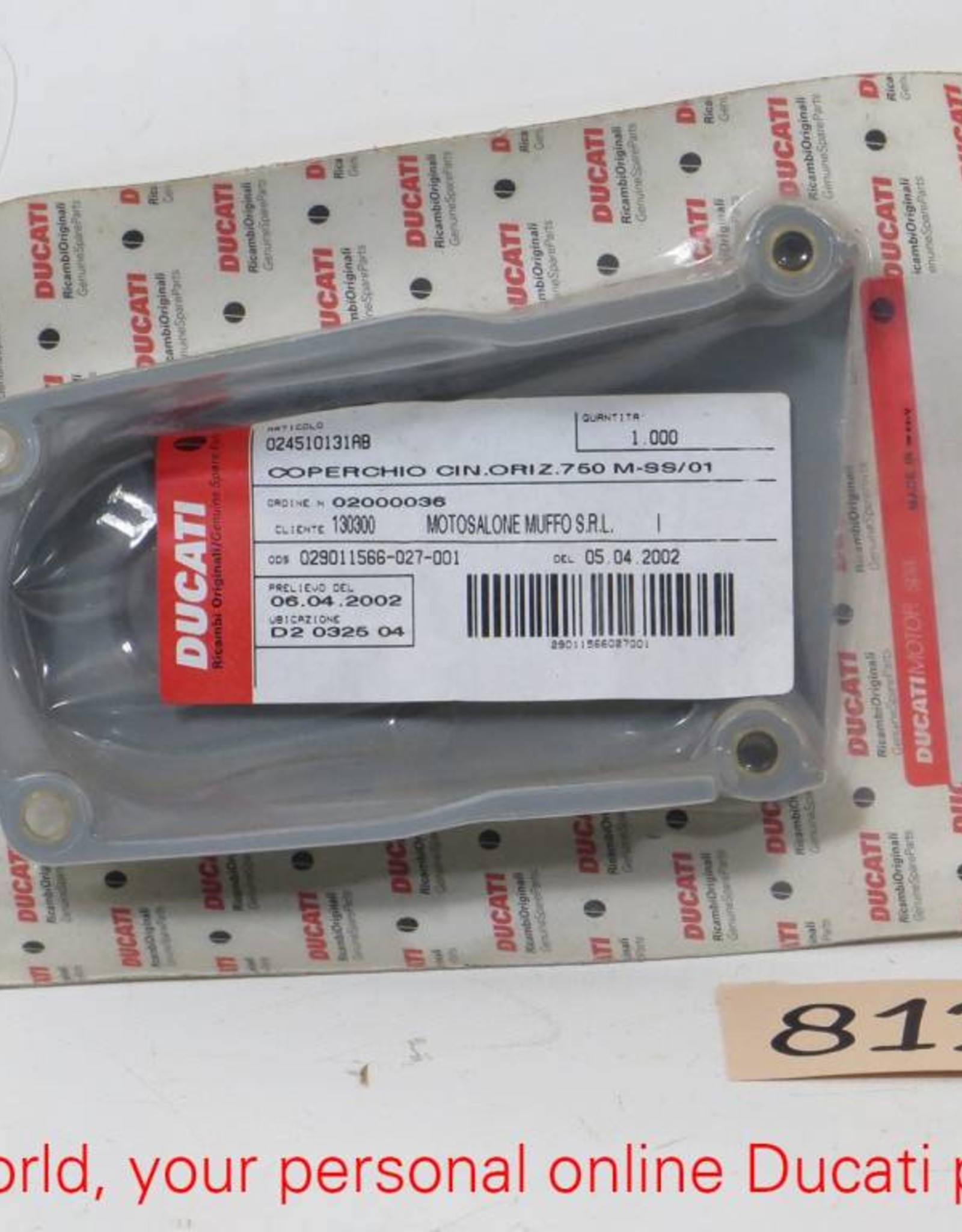 Ducati Ducati Horizontal Timing Belt Cover Monster 600/750/900, 900 SS
