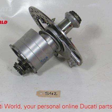 Ducati Ducati Hub, Rear Wheelspindle and rear Brake Disc 848