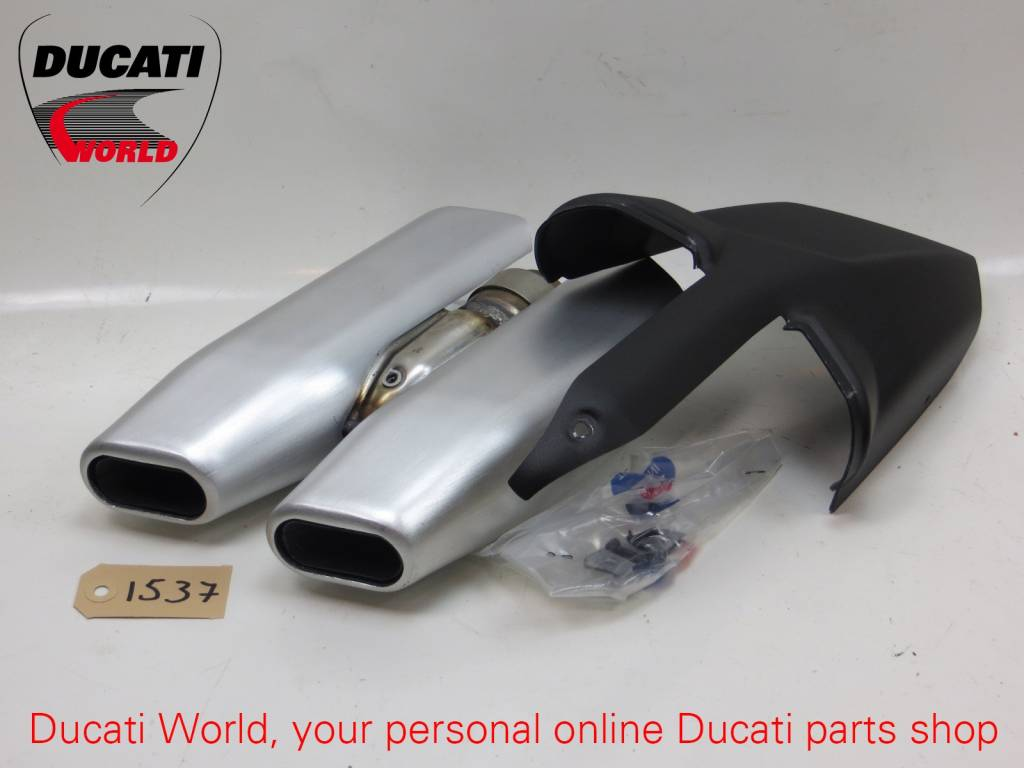 Ducati Ducati Original Silencers Multistrada 1200 *Removed From New Bike At Dealer*