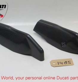 Ducati Performance Ducati Performance Carbon Fork Leg Guards Set Hypermotard