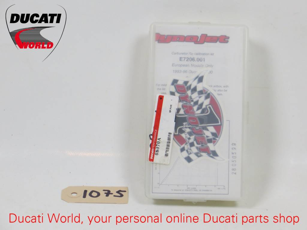 Ducati Performance Ducati Performance Dynojet Carburetor Recalibration Kit Monster