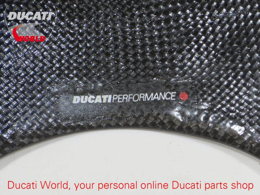 Ducati Performance Ducati Performance Front Headlight Fairing Carbon Monster <'99