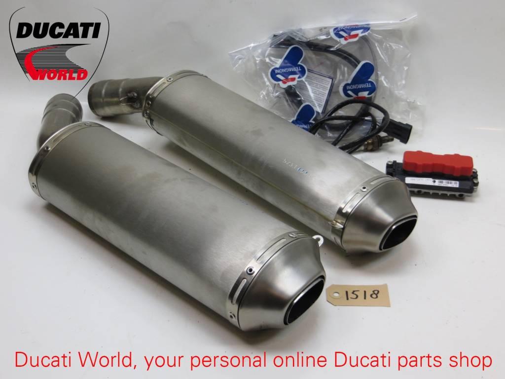 Ducati Ducati Racing Titanium Silencer Pair SBK 1098