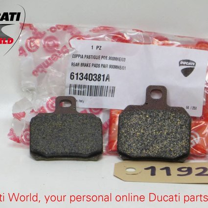 Ducati Ducati Rear Brake Pads Pair 900MH