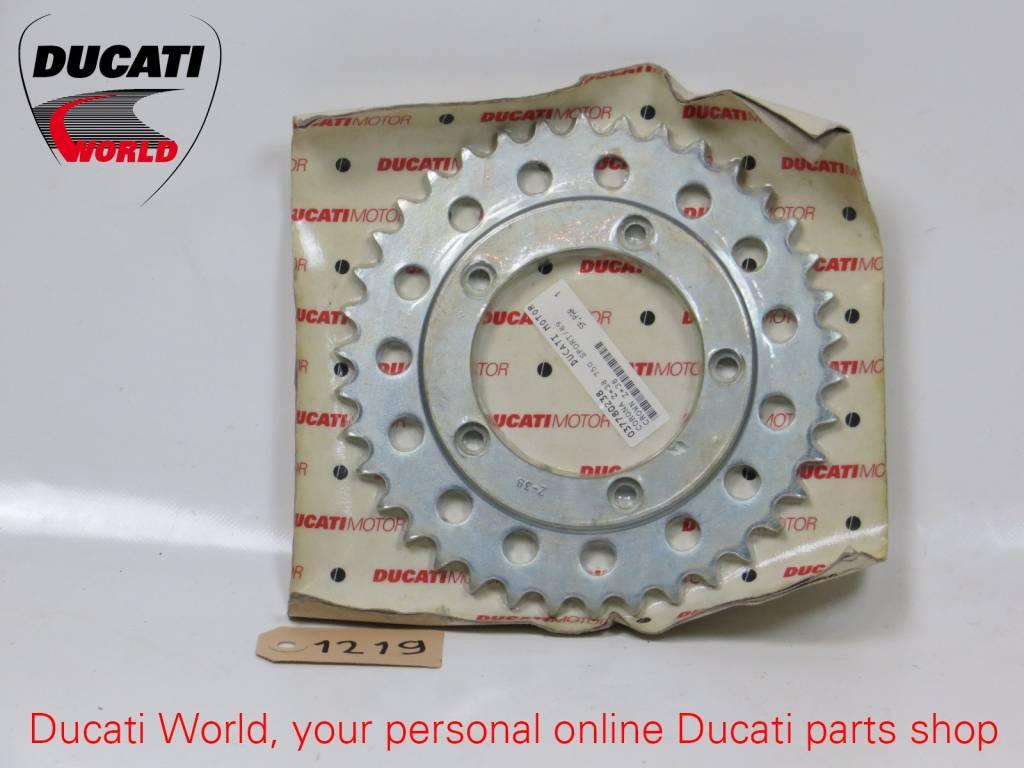 Ducati Ducati Rear Sprocket Z=38 750 Sport, Paso 750