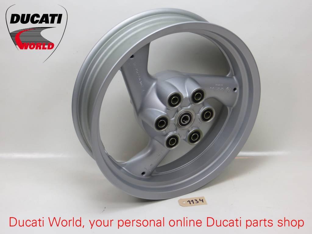 Ducati Ducati Rear Wheel Rim 3-Spoke Grey (17xMT4.50) Monster 600/750/900
