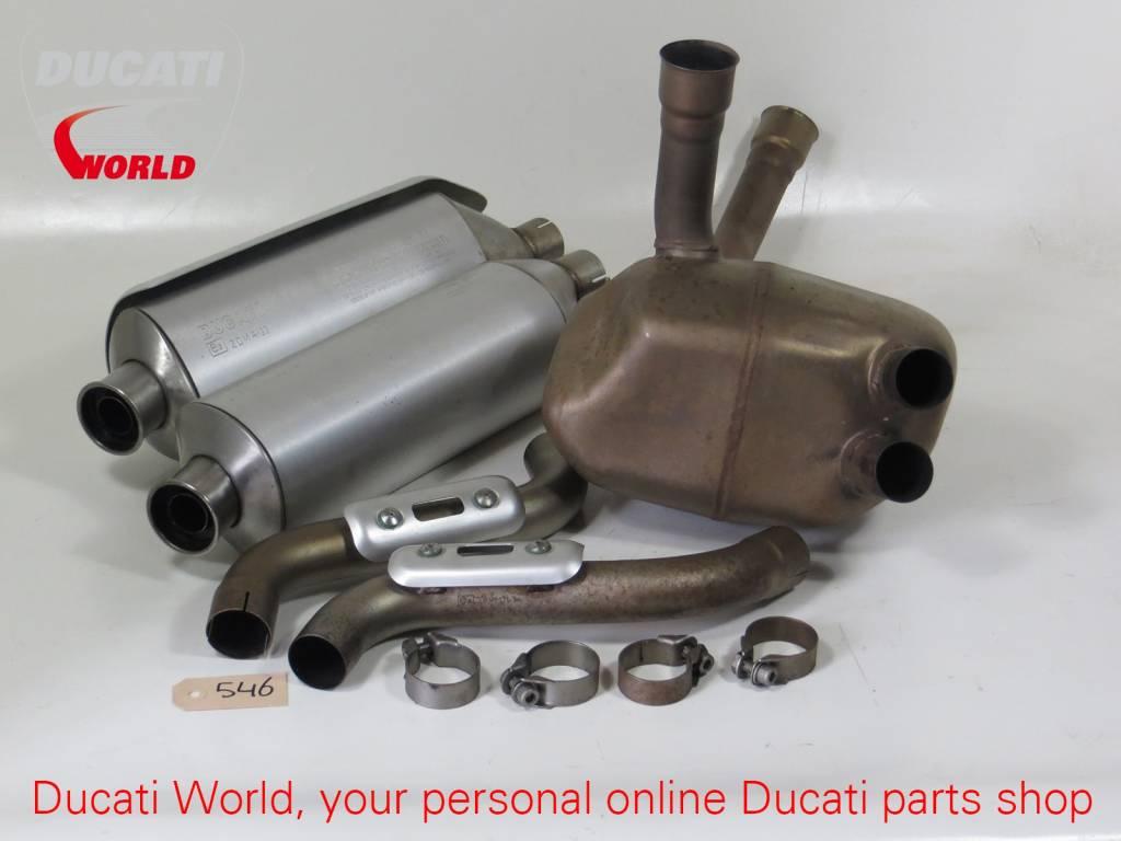 Ducati Ducati Remus Exhaust Kit Monster