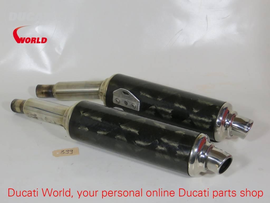 Ducati Ducati Remus LH&RH Carbonlook Silencer SuperSport/851/888