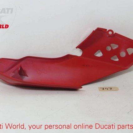 Ducati Ducati RH Red Seat Panel Cover Mutistrada 1000/1100