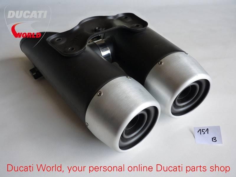 Ducati Ducati Silencers Hypermotard