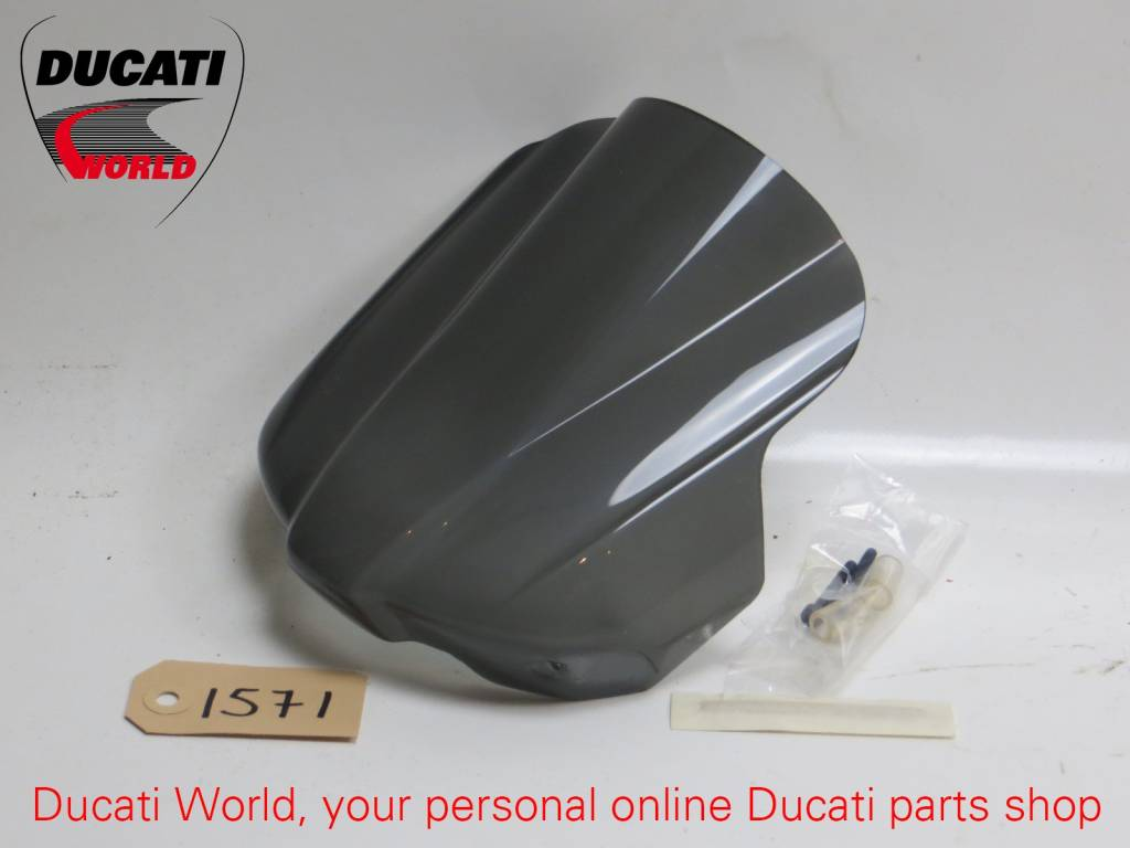 Ducati Ducati Smoke Windshield With Original Ducati Performance Sticker Monster 696/796/1100