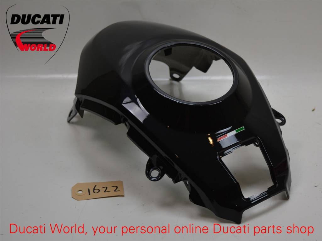 Ducati Ducati Tank Cover Middle Black Multistrada 1200