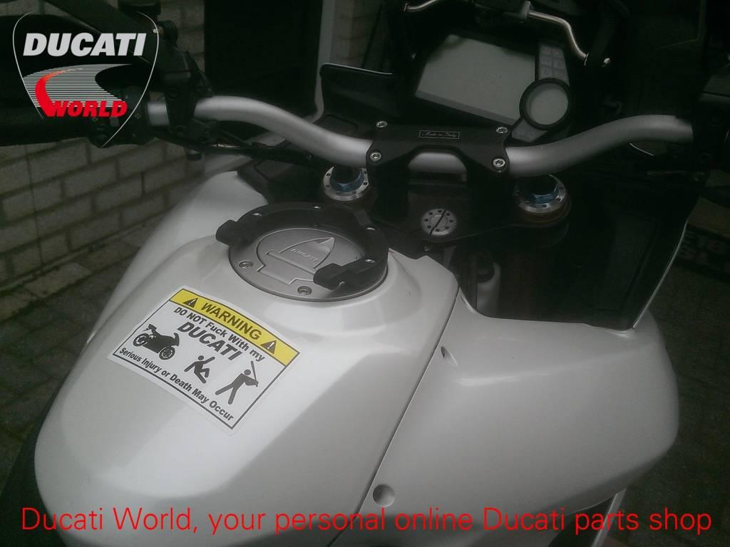 Ducati Ducati Warning Decal