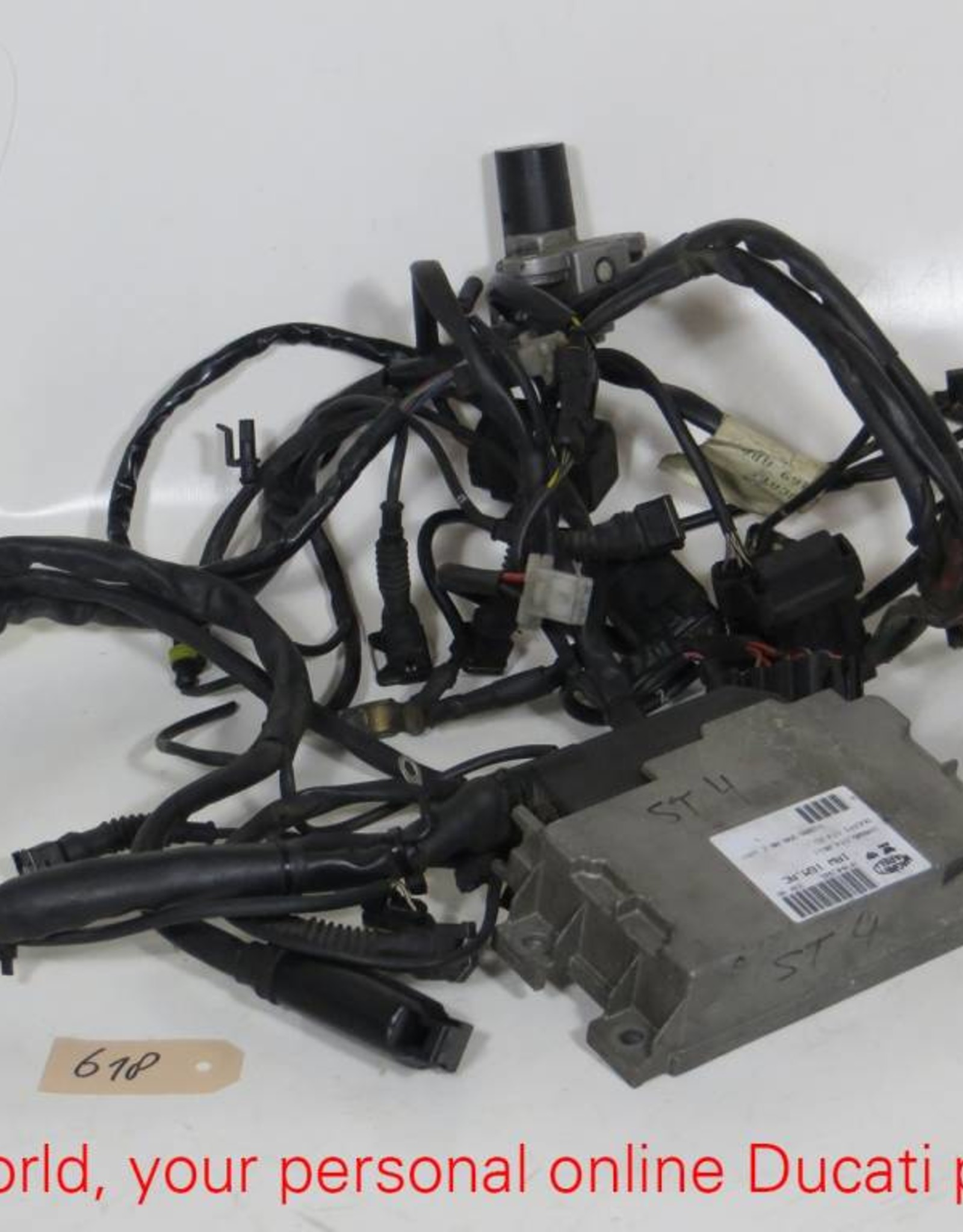 Ducati Ducati Wiring Harnes With Injection Control Unit ST4