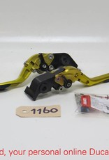 MG Biketech MG Biketec LH & RH Adjustable Lever Streetfighter