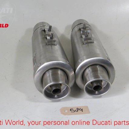 MIVV MIVV Slip-on Stainless Steel Silencers Ducati Multistrada 1000/1100