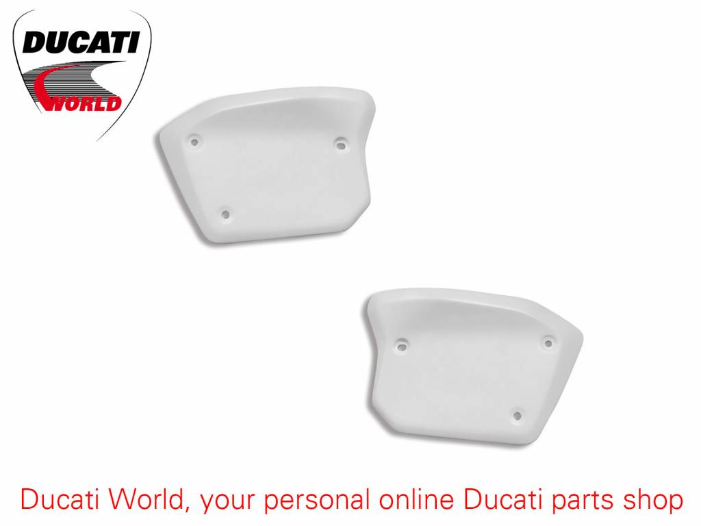 Ducati Lateral Number Holder Plates Set