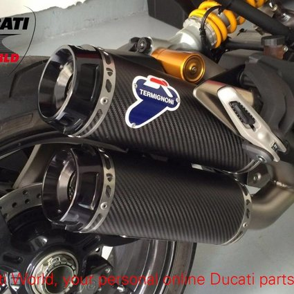 Termignoni Termignoni Complete Racing Exhaust System Carbon Monster 1200