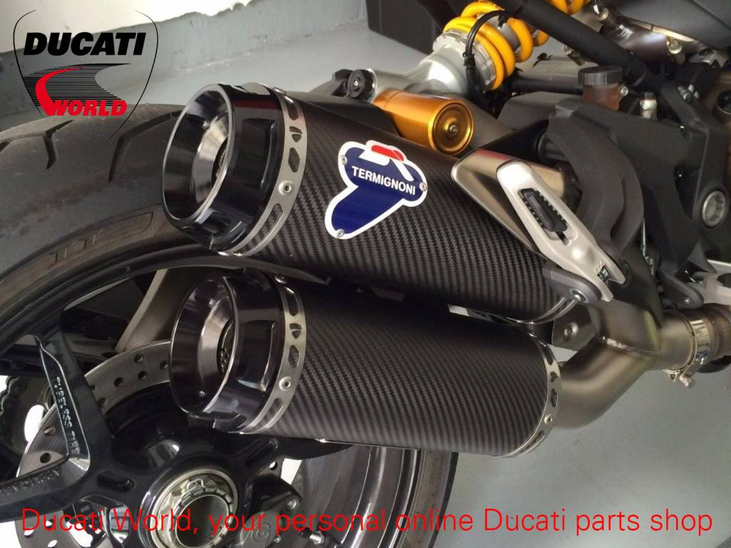 Termignoni Complete Racing Exhaust System Carbon