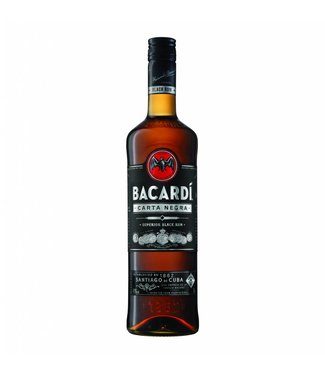 Bacardi Carta Negra Superior Black Rum 700ml