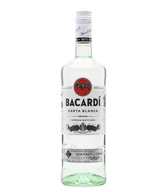 Bacardi Carta Blanca Superior White Rum 700ml