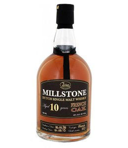Zuidam Millstone Dutch Single Malt Whisky 10 Years French Oak