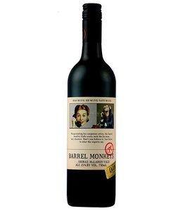 "Red Heads ""Barrel Monkeys"" Shiraz 2016"