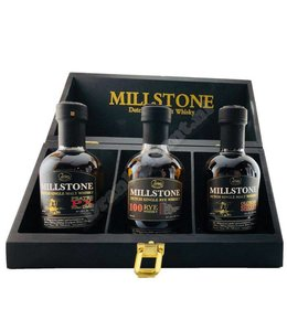 Zuidam Millstone Dutch Single Malt Whisky - Rye / Oloroso / PX - 3 x 200 ml