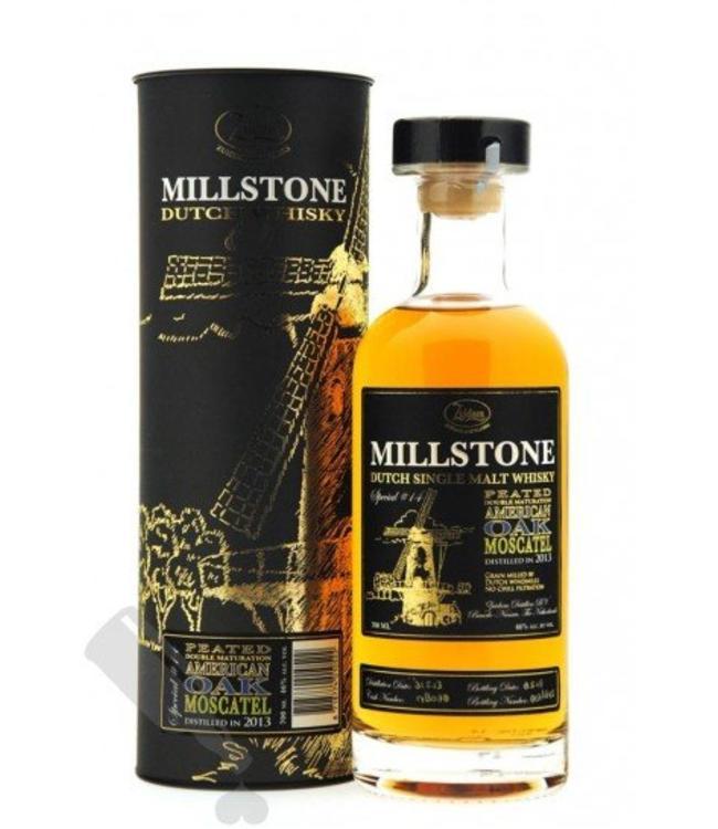 Zuidam Millstone Dutch Single Malt Whisky Peated Double Maturation American Oak Moscatel