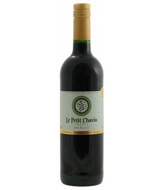 Le petit Chavin - Merlot - alcoholvrije wijn rood