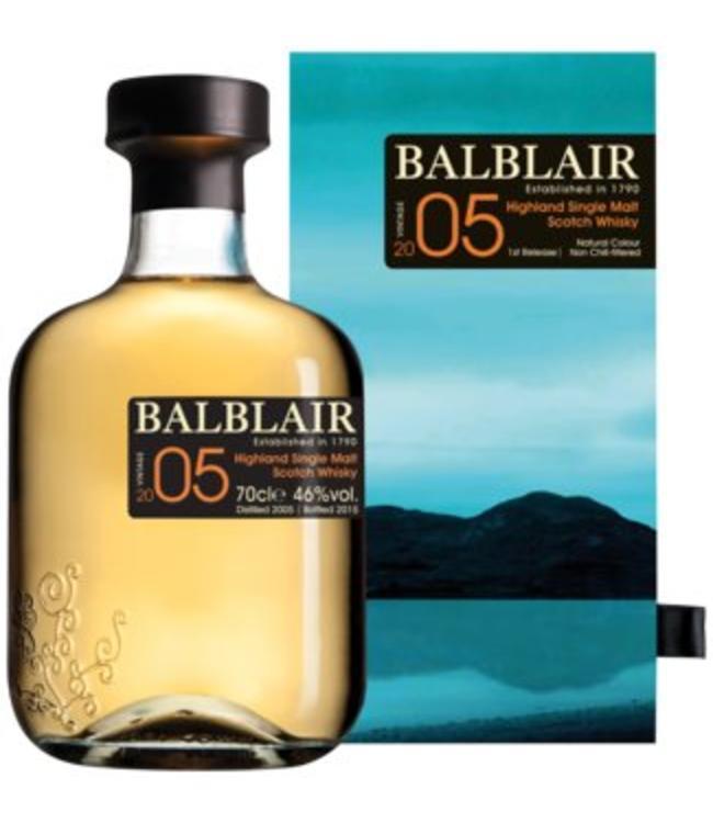Balblair 2005 Single Malt Scotch Whisky