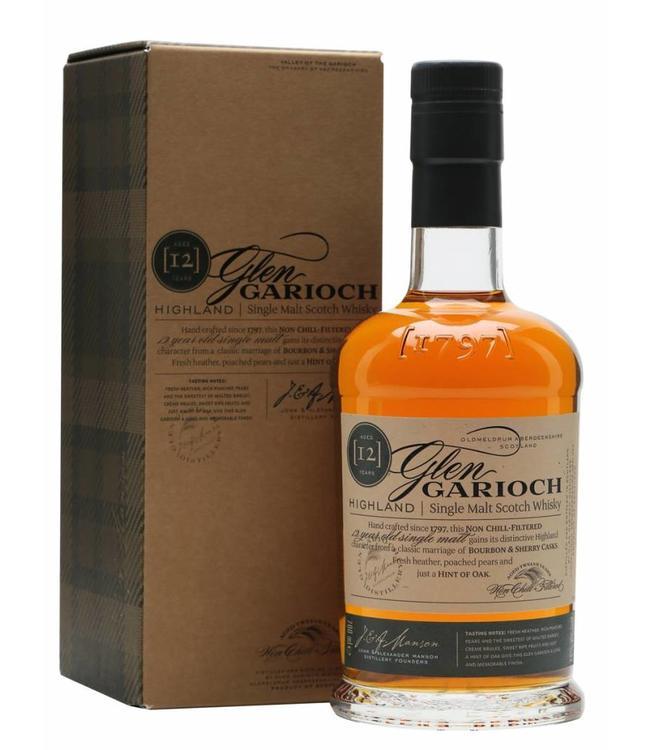 Glen Garioch Highland Single Malt Scotch Whisky 12 Years
