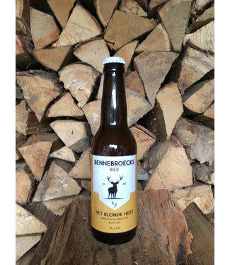 Bennebroecks Bier - Het Blonde Hert - 330ml