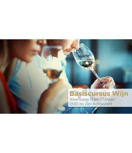 Basiscursus Wijn 13 en 27 maart 2019