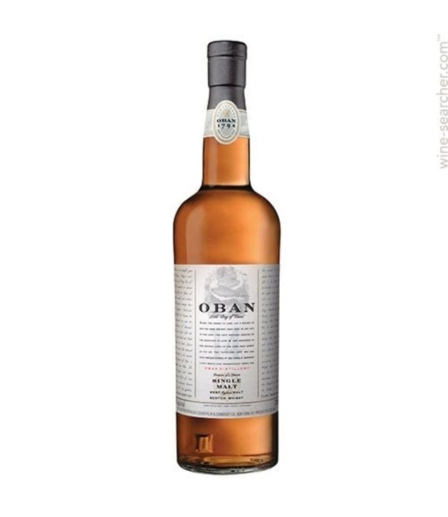 Oban West Highland Single Malt Scotch Whisky 14 Yrs - 700ml