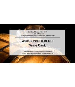 Proeverij van Whisky 'Wine Cask'