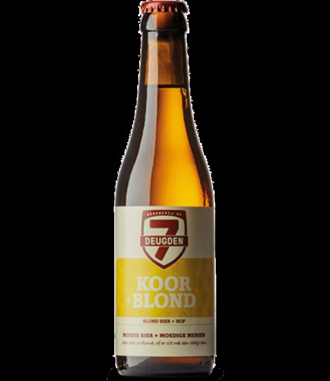 De 7 Deugden - Koor + Blond - 750ml