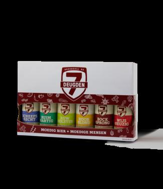 De 7 Deugden - cadeau set - 6x330ml