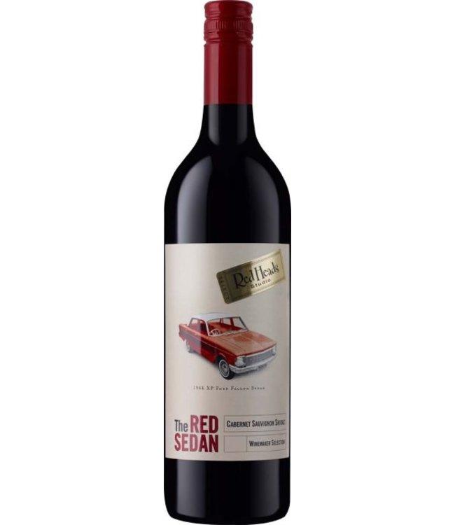"""Red Heads  """"The Red Sedan"""" - cabernet sauvignon shiraz - 2017"""