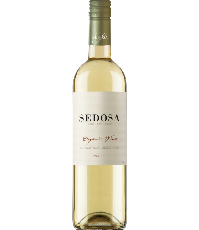 Sedosa Organic Wine - viura verdejo sauvignon blanc - 2018