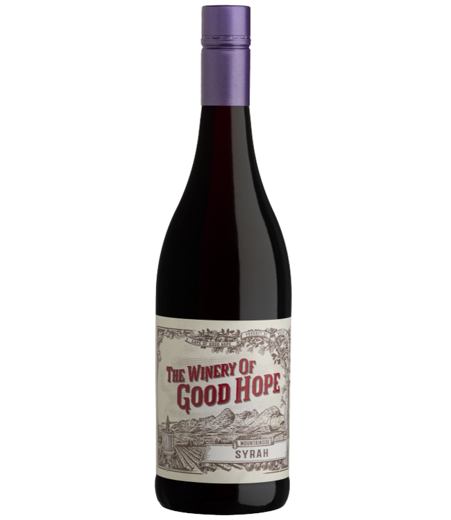 The Winery of Good Hope - Mountainside Syrah - Zuid Afrika 2017
