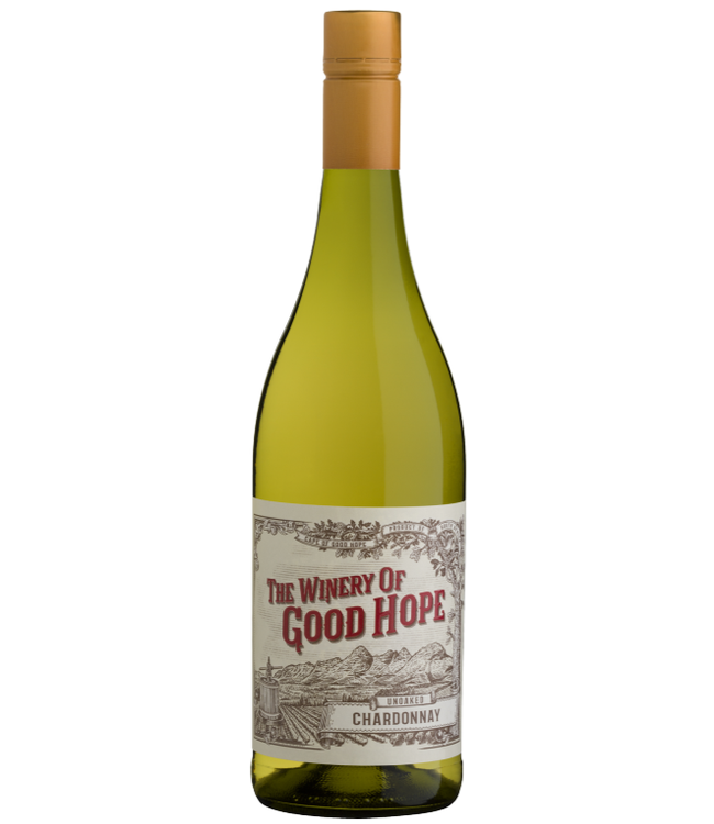 The Winery of Good Hope - Unoaked Chardonnay - Zuid Afrika 2019