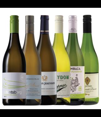 Proefpakket Zuid-Afrikaanse wijnen wit - 6 flessen