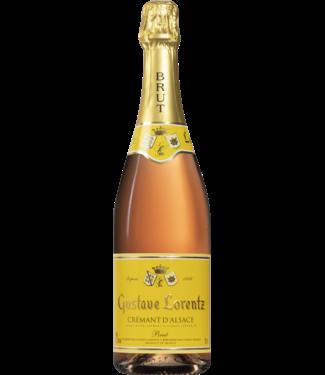 Gustave Lorentz - Crémant d'Alsace Rosé Brut AOC