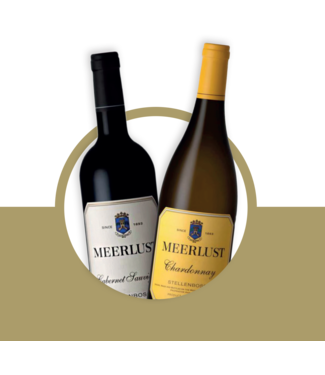 Set van 2 Meerlust wijnen